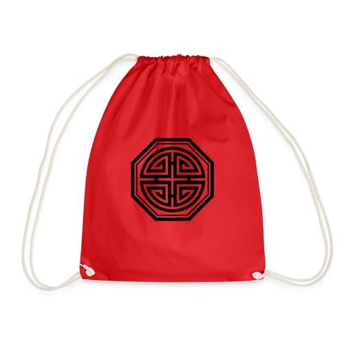 Four blessings, Chinesisches Glücks Symbol, Segen - Turnbeutel