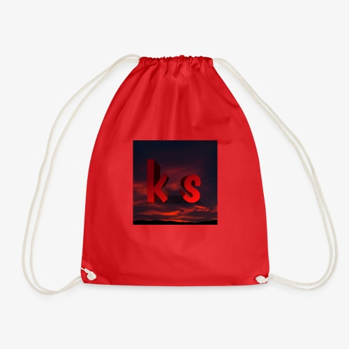 Logo KS red - Sac de sport léger