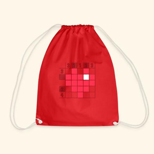 Heart Tshirt Women - Drawstring Bag