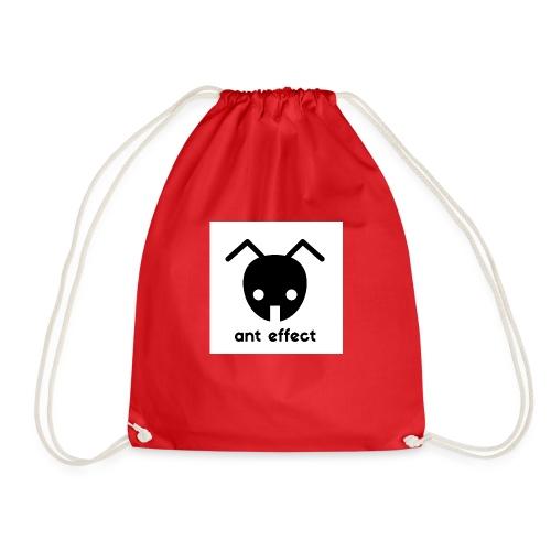 ant effect logo - Turnbeutel