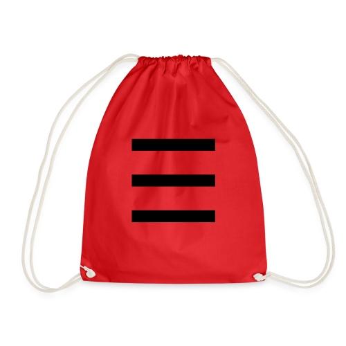 stripe 01 - Drawstring Bag