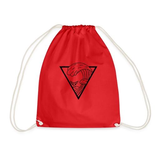 WAVE TRIANGLE - Drawstring Bag