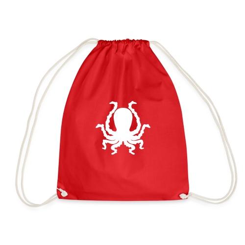 Catfux Logo - Kraken KAFFU - Turnbeutel