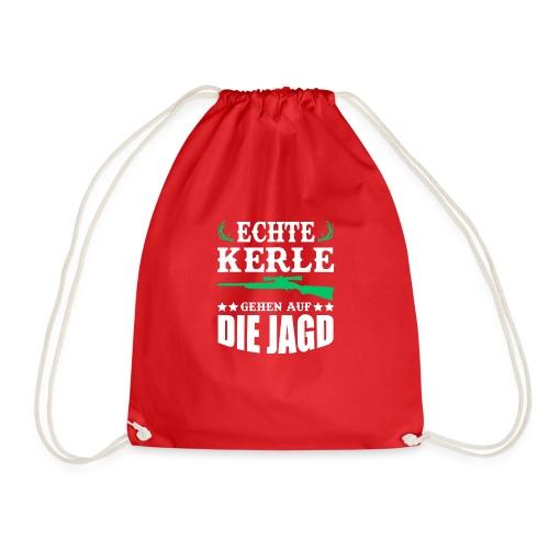ECHTE KERLE GEHEN AUF DIE JAGD - Turnbeutel