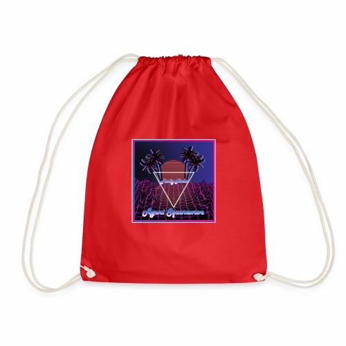 Agent Squarewave - Funky Noobs - Drawstring Bag