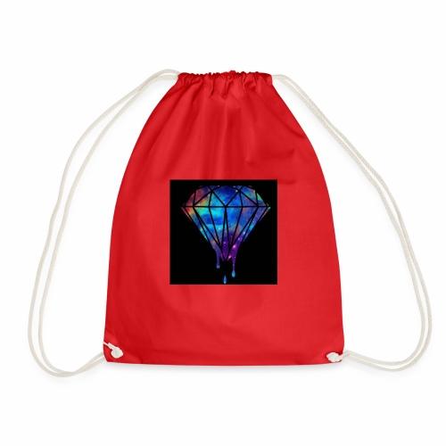 The paint spilt - Drawstring Bag