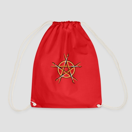 PAGAN PAINTER - Drawstring Bag