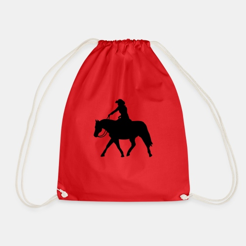 Ranch Riding extendet Trot - Turnbeutel