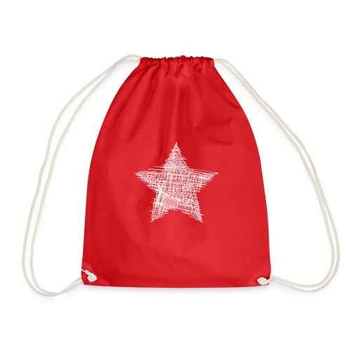 Estrella blanca - Mochila saco