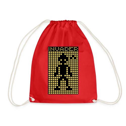 Invader (the greys) - Drawstring Bag
