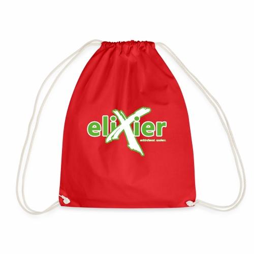 eliXier Logo - Turnbeutel