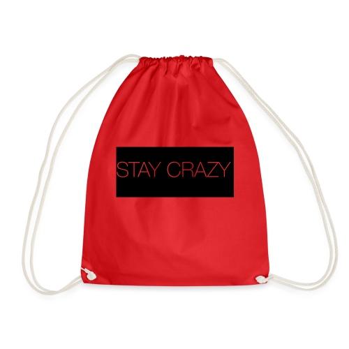 STAY CRAZY - Gymnastikpåse