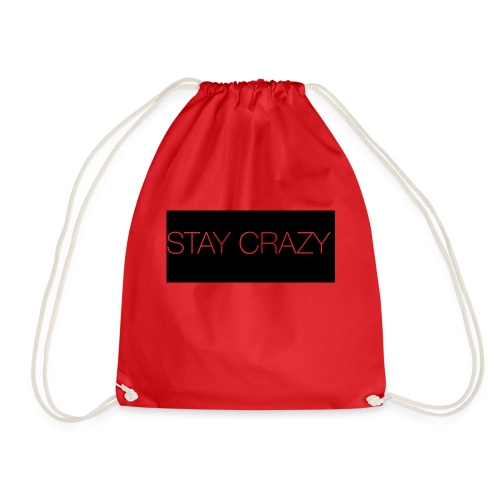 STAY CRAZY - Gymnastikpåse