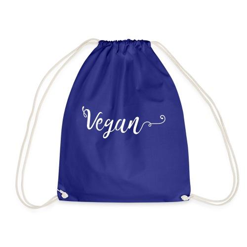 Vegan logo blanc - Sac de sport léger