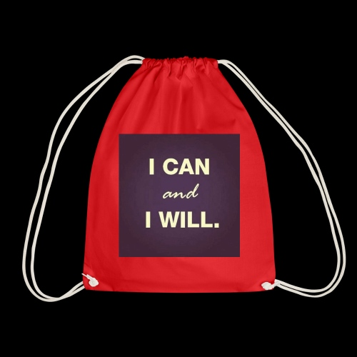 I can and I will - Drawstring Bag