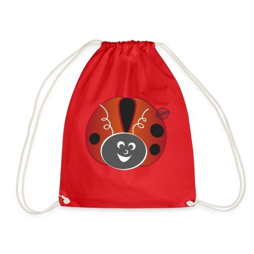 Ladybug - Symbols of Happiness - Drawstring Bag