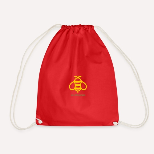 Bee Yourself Print Design. Stand Out Of The Crowd. - Drawstring Bag
