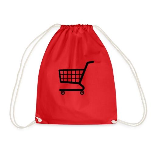 shopping cart png i8 png - Drawstring Bag