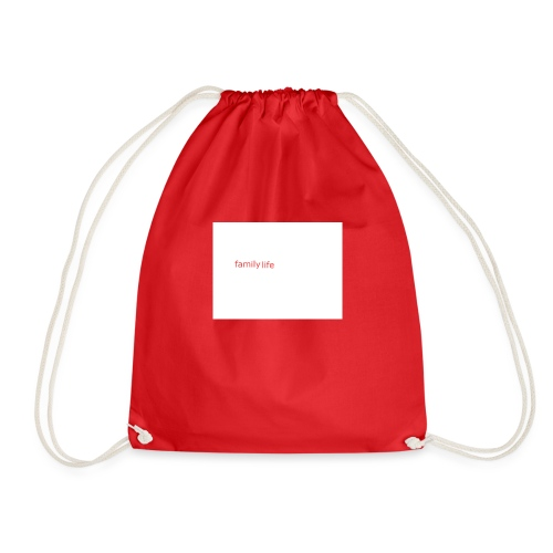 family life logo - Drawstring Bag