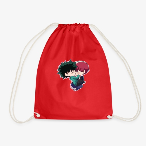 tododeku by dark cruel place - Drawstring Bag