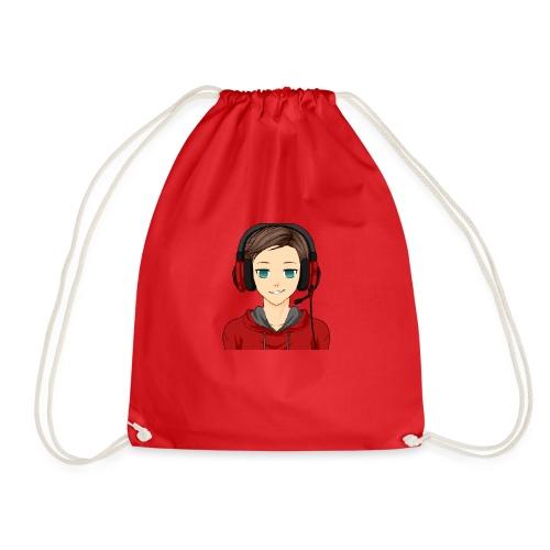 LeoGamer Logo - Drawstring Bag