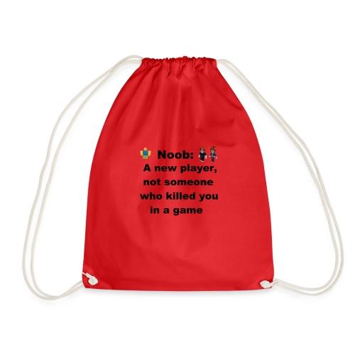 Noob - Drawstring Bag