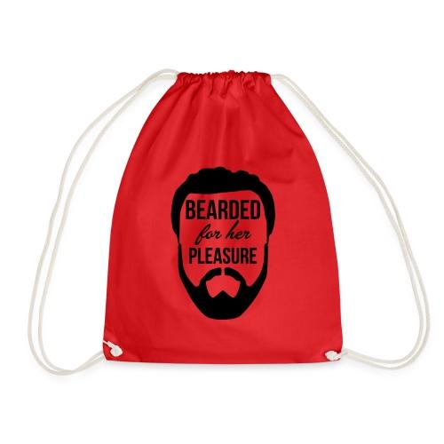 Bearded for her pleasure - Drawstring Bag