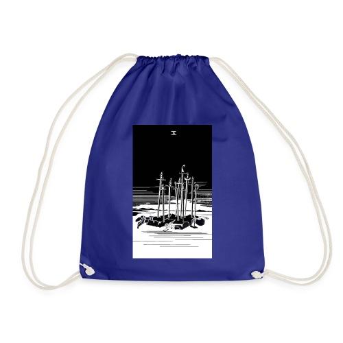 Revenge Capitalism (on color) - Drawstring Bag