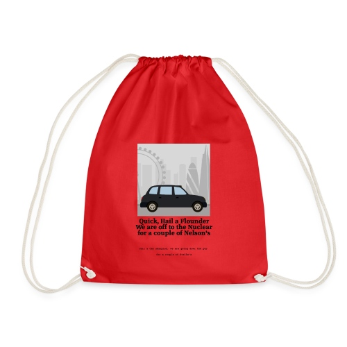 Flounder - Drawstring Bag