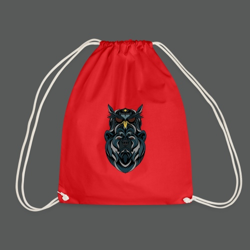 animal art work - Drawstring Bag