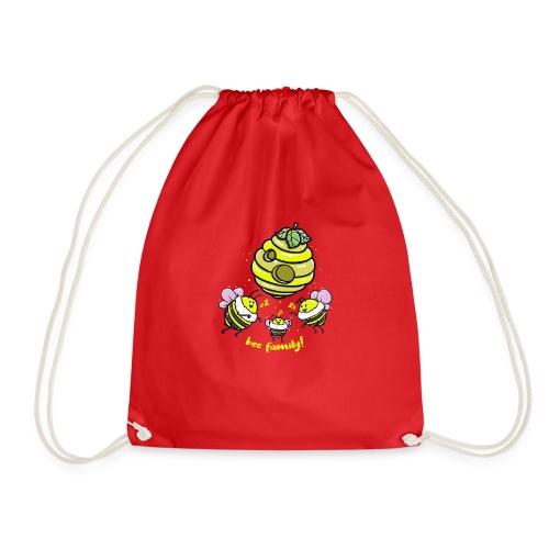 Bee Family! - Drawstring Bag