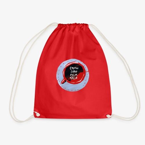Coffee Shop Film Talk - Drawstring Bag
