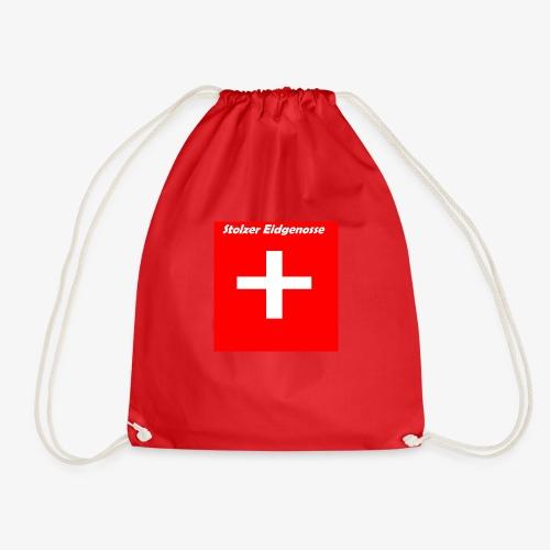 Schweizer Fanshirt - Turnbeutel