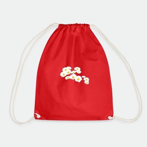 Spring Season Daisies - Drawstring Bag
