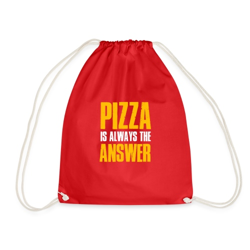 Pizza is The Answer - Turnbeutel