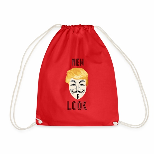 New Look Transparent /Anonymous Trump - Sacca sportiva