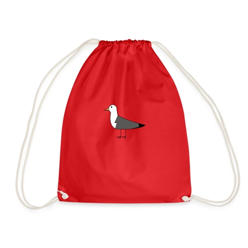 Seagull - Drawstring Bag