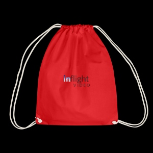 Logo Dark text - Drawstring Bag