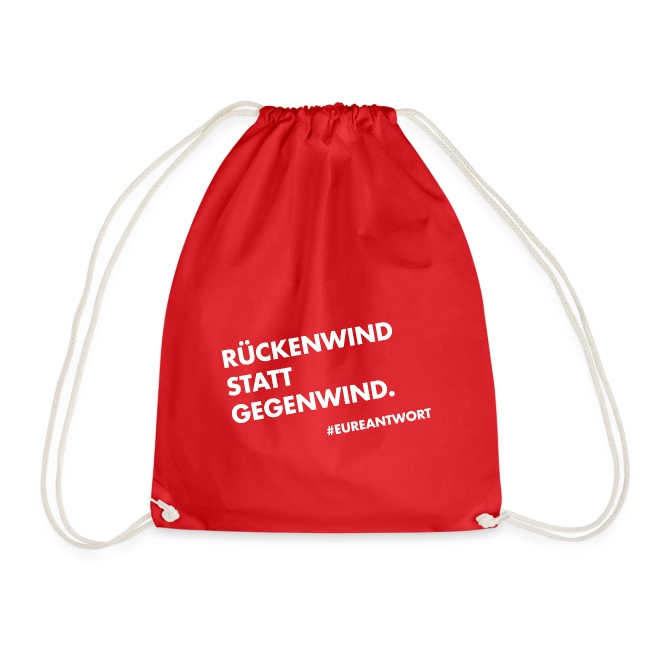 Rückenwind statt Gegenwind
