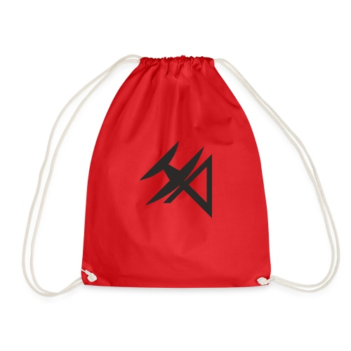 logo HA NEGRO - Drawstring Bag