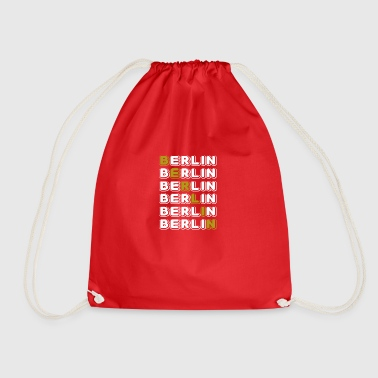Berlin white - Drawstring Bag