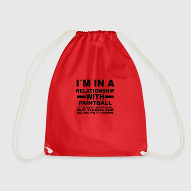 Relationship with PAINTBALL - Drawstring Bag