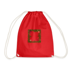 Flowers - Drawstring Bag