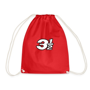 Three and a Half Logo - Drawstring Bag