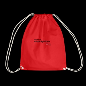 Welcome to #FullFlightClub - Drawstring Bag