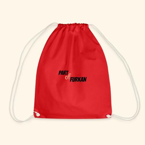 LOGO PARTofFURKAN - Drawstring Bag