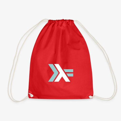 haskell lovers - Drawstring Bag