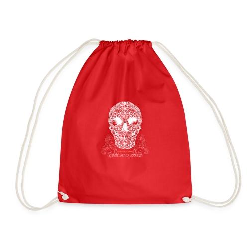 Chicano Style , Skull Mexiko Totenkopf Bobber - Turnbeutel