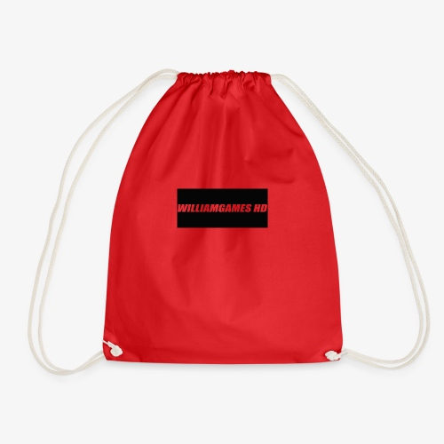 william shirt logo - Drawstring Bag