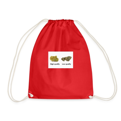 High Quality Weed - Drawstring Bag